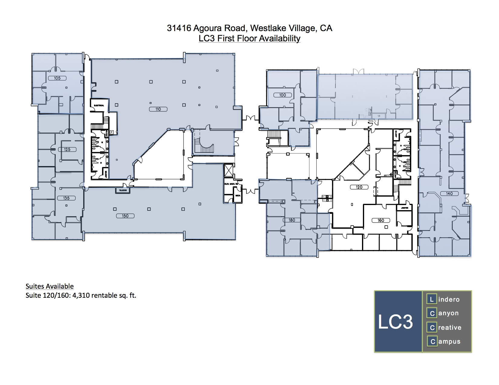Creative Office Floor Plans: Floor Plans- LC3